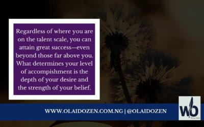 Talent is overrated: Focus on these two things instead